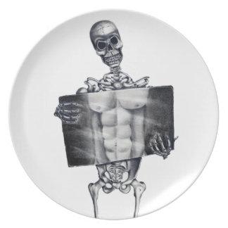 Skeleton Chest Xray Plate