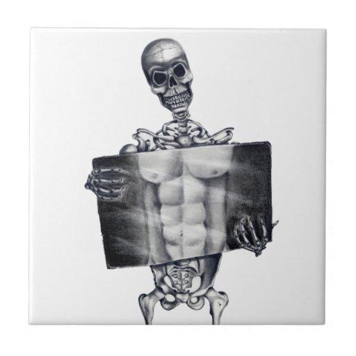 Skeleton Chest Xray Tile