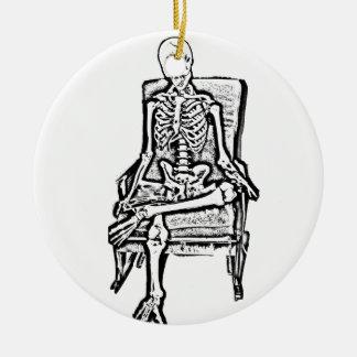 Skeleton Christmas Ornament
