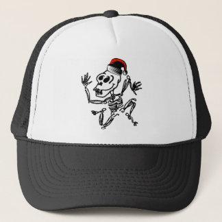 Skeleton Christmas Trucker Hat