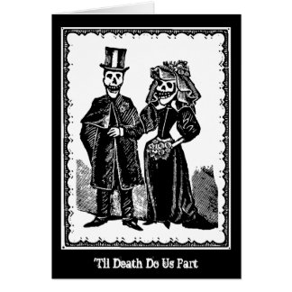 Skeleton Couple - Card (Customize)