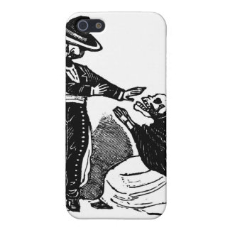 Skeleton Couple Fighting c. 1900s Mexico Case For The iPhone 5