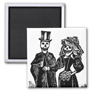 Skeleton Couple - Magnet #3