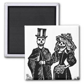 Skeleton Couple - Magnet #3