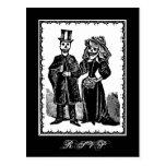 Skeleton Couple (RSVP) - Postcard
