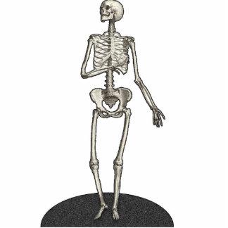 Skeleton Cutout Photosculpture 5x7 Standing Photo Sculpture