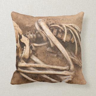 Skeleton Dirt Nap Cushion