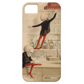 Skeleton Doctor Pharmacist Medical Art Iphone Case iPhone 5 Cover