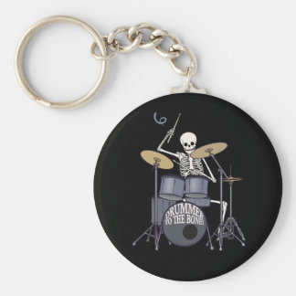 Skeleton Drummer Key Ring