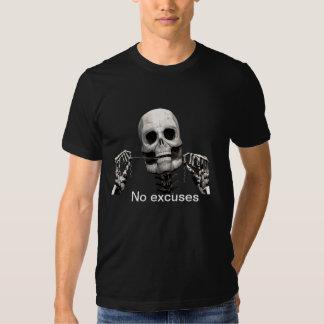 Skeleton flossing tee