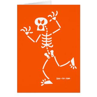 Skeleton Frightening Cards