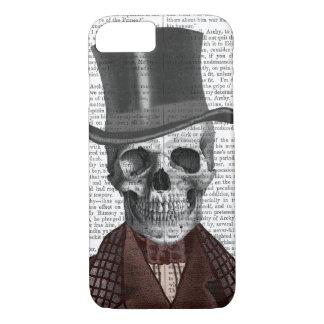 Skeleton Gentleman and Top hat iPhone 8/7 Case