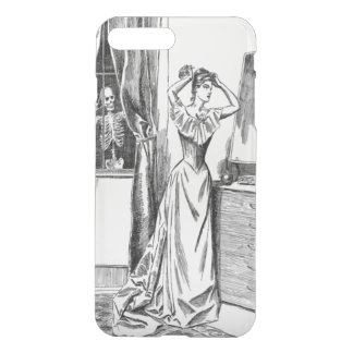 Skeleton Ghoul Monster Victorian Woman iPhone 7 Plus Case
