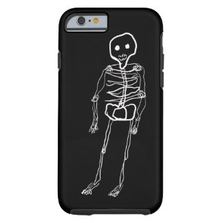 Skeleton Graphic Tough iPhone 6 Case