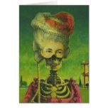 Skeleton Greetings Card