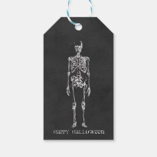 Skeleton Halloween Gift Tags