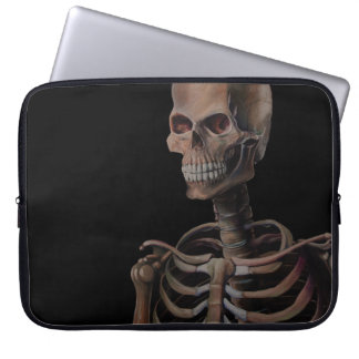 Skeleton Hand Painted Computer Sleeves