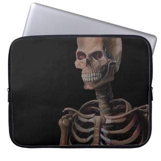 Skeleton Hand Painted Computer Sleeves
