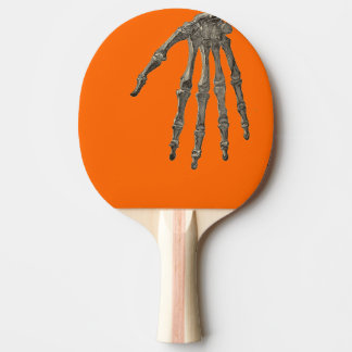 Skeleton Hand Ping Pong Paddle