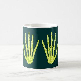 Skeleton hands sceleton hands mug