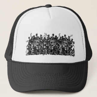 Skeleton Horde Truckers Cap