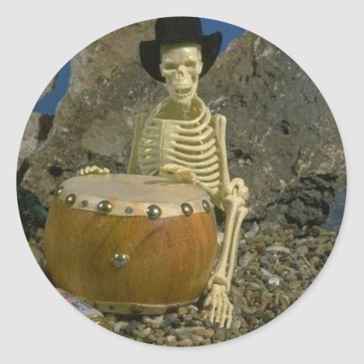 Skeleton Humor Sticker