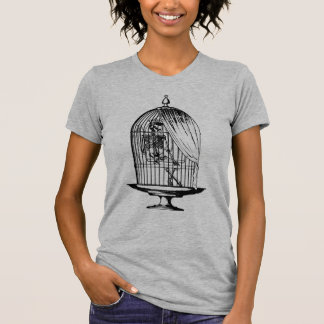 Skeleton in a Birdcage Shirt