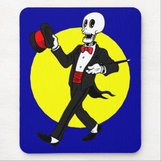 Skeleton in Tuxedo Suit Mouse Mat