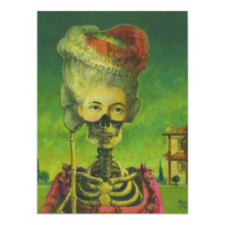 Skeleton Invite For All Occasions 17 Cm X 22 Cm Invitation Card