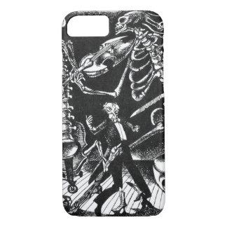 Skeleton Jam Band iPhone 7 Case