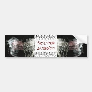 Skeleton Jamboree Bumper Stickers