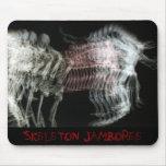 Skeleton Jamboree Mousepads