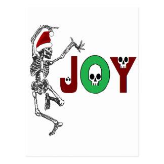 Skeleton Joy Postcard