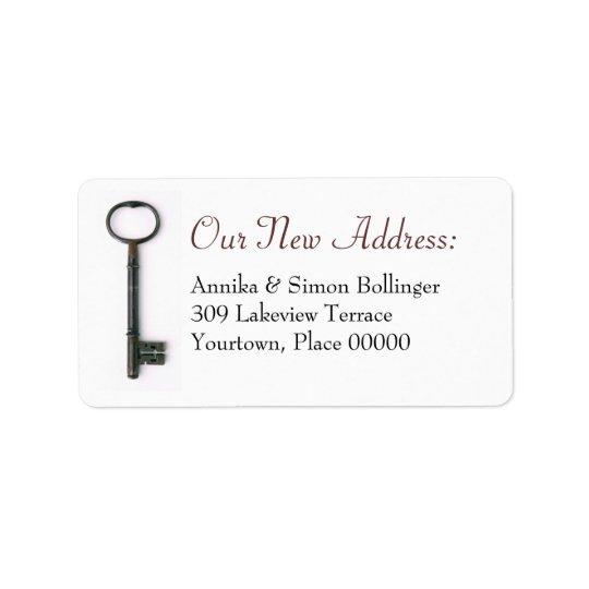 Skeleton Key New Address Label
