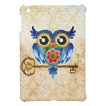 Skeleton Key Owl Cover For The iPad Mini