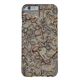 Skeleton Keys Barely There iPhone 6 Case