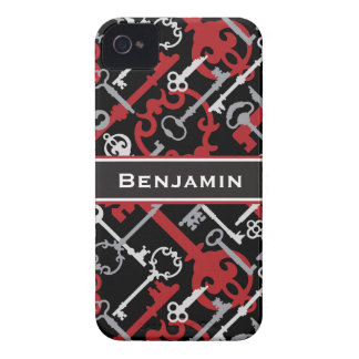 Skeleton Keys iPhone 4 Case-Mate Case