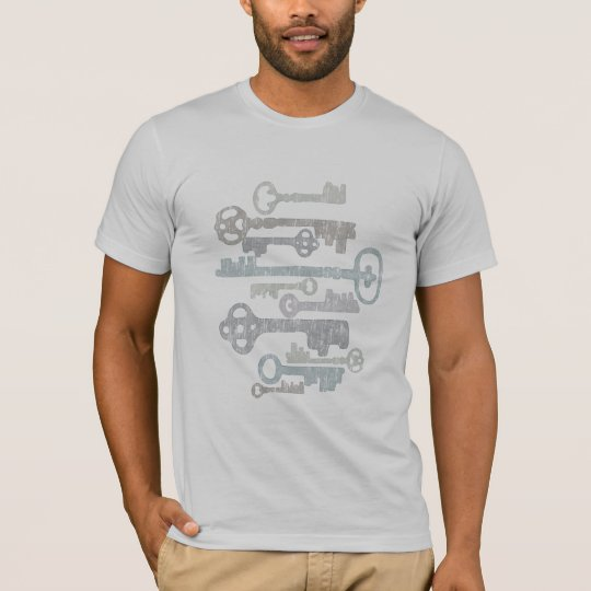 Skeleton Keys tee shirt