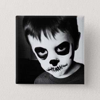 Skeleton Kid (2 inch pin) 15 Cm Square Badge