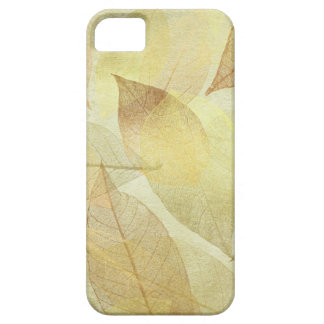 Skeleton Leaves Gold & Bronze Barely There iPhone 5 Case