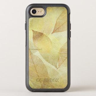 Skeleton Leaves Gold & Bronze OtterBox Symmetry iPhone 7 Case