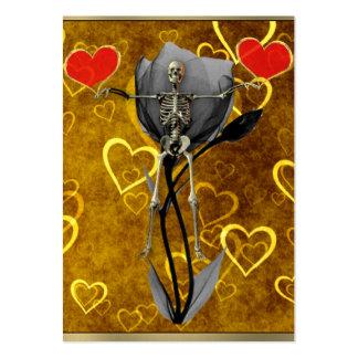 Skeleton Love Valentine Large Business Cards (Pack Of 100)