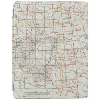 Skeleton Map iPad Cover