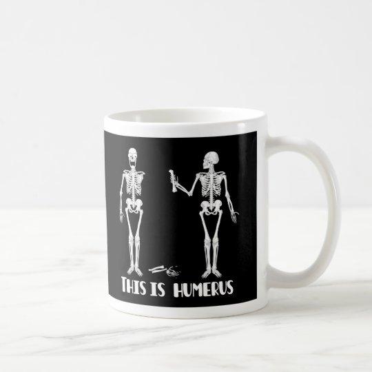 Skeleton Mug - Crazy skeletons -Humourous &
