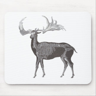 Skeleton of Irish Elk - Megaceros hibernicus Mouse Pad
