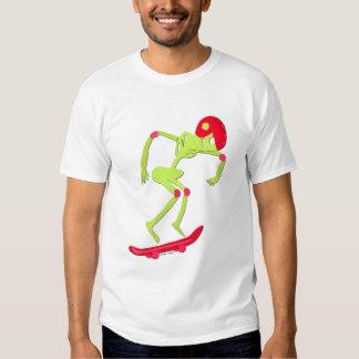 Skeleton on Skateboard T-shirt