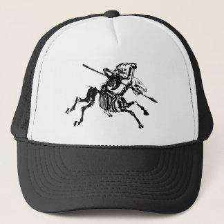Skeleton on Skeleton Horse Trucker Hat