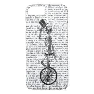 Skeleton on Unicycle iPhone 8/7 Case