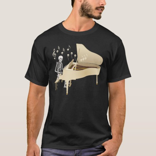 Skeleton Pianist T-Shirt