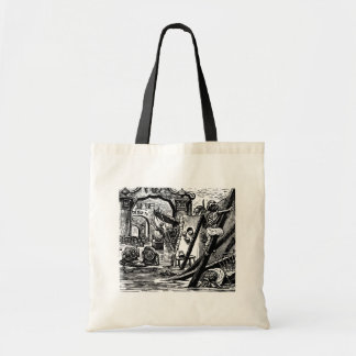 Skeleton Pirates circa 1951 Tote Bag